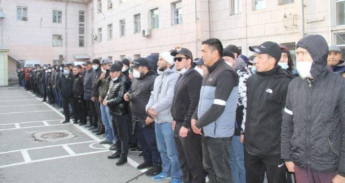 Встреча Курсана Асанова с сотрудниками Министерства внутренних дел КР