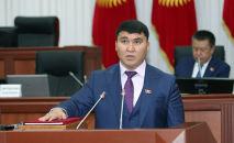 Депутат Жогорку Кенеша Дуйшон Торокулов. Архивное фото