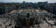 Бишкектеги Ала-Тоо аянтындагы митинг