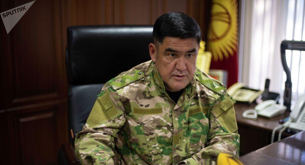 И.о. главы МВД Курсан Асанов
