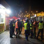 Ночью группы ДНД патрулировали Бишкек в целях предотвращения мародерства