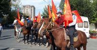 Ошто атчан кишилер Кыргызстандын желектери менен