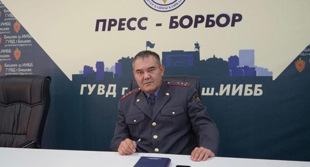 Начальник пресс-службы ГУВД Улан Джумаков