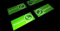 Логотип службы мобильных сообщений WhatsApp
