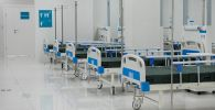 Палата для пациентов в новой больнице. Архивное фото