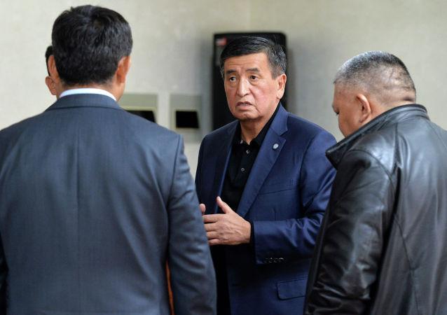 Президент Кыргызской Республики Сооронбай Жээнбеков посетил Генеральный штаб Вооруженных Сил Кыргызской Республики. 9 октября 2020 года
