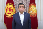 Президент Кыргызстана Сооронбай Жээнбеков выступил с обращением к кыргызстанцам по ситуации в стране.