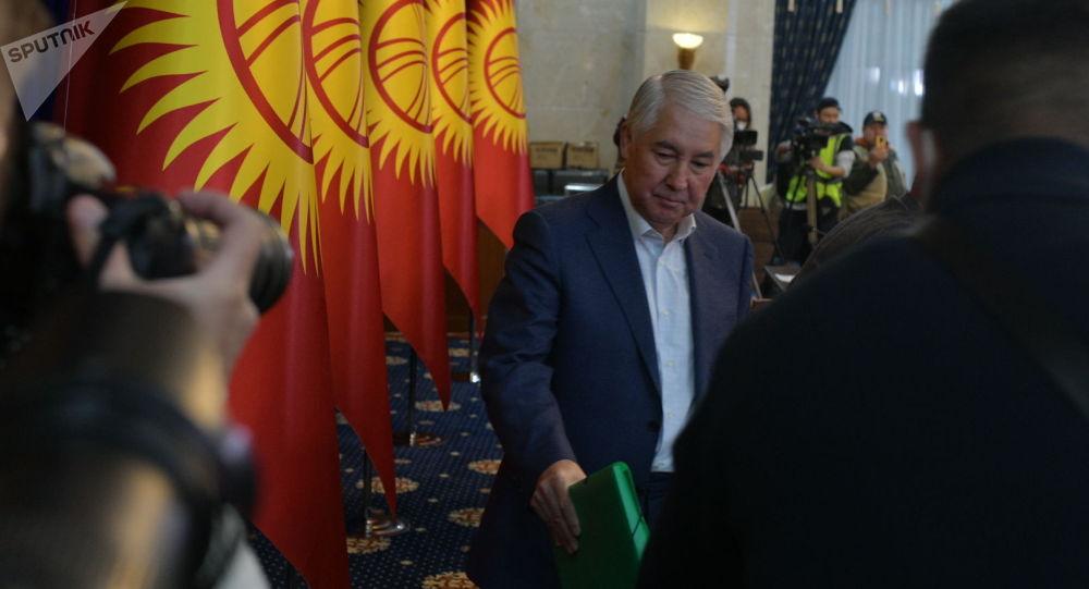 Спикер Жогорку Кенеша Мыктыбек Абдылдаев