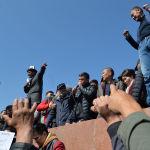 7 октября на центральной площади прошел митинг с требованием объявить импичмент президенту Сооронбаю Жээнбекову