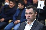 Кандидат на пост премьер-министра Садыр Жапаров на внеочередном заседании парламента Кыргызстана в государственной резиденции Ала-Арча в Бишкеке. Архивное фото