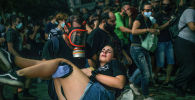 Протесты в Афинах (Греция), после признания судом ультраправой партии Золотая заря преступной организацией