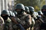 Развод-инструктажем Бишкекского гарнизона с участием всех силовых структур