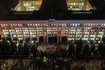 Захваченный Белый дом митингующими, недовольными результатами парламентских выборов