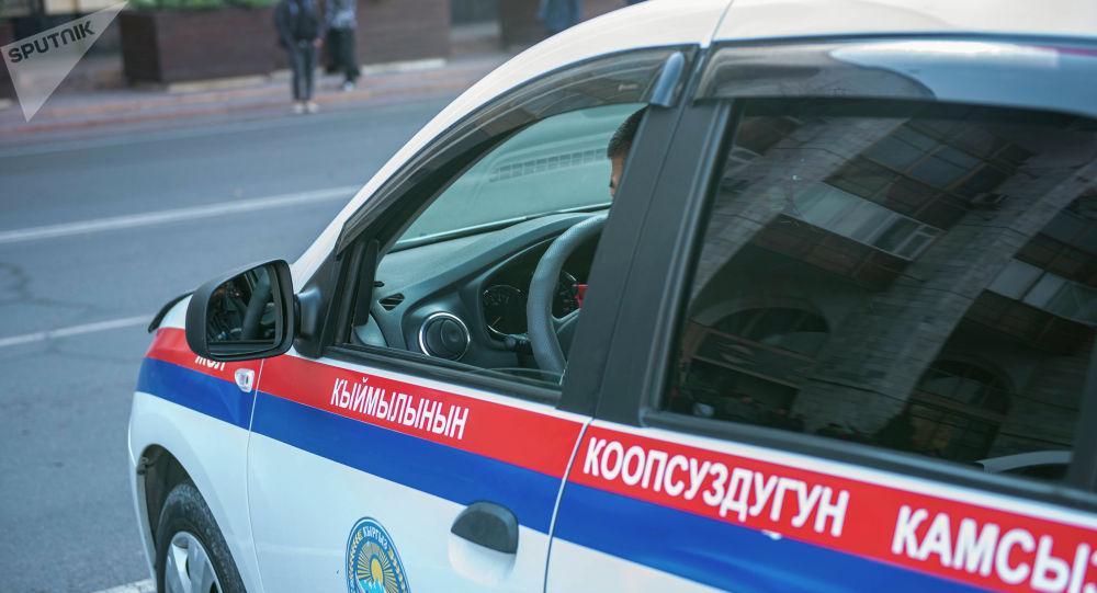 Автомобиль патрульной милиции. Архивное фото