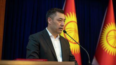 Избранный президент Кыргызстана Садыр Жапаров. Архивное фото