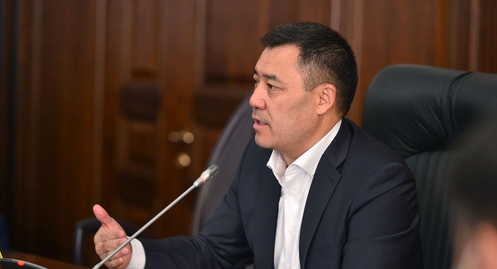 Занявший пост премьер-министра КР Садыр Жапаров