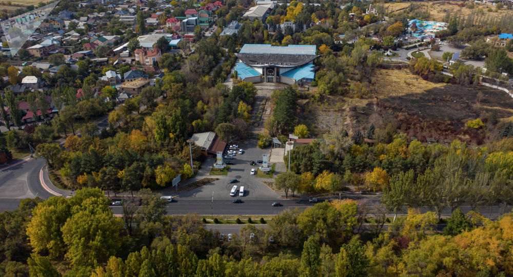Павильон экспоцентра на территории СЭЗ Бишкек. Архивное фото