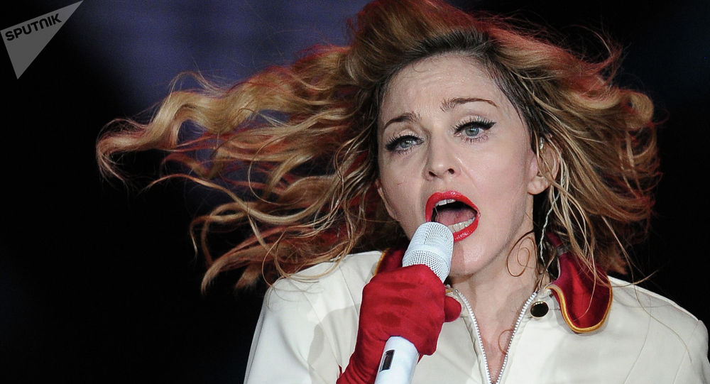 Американская певица Мадонна. Архивное фото