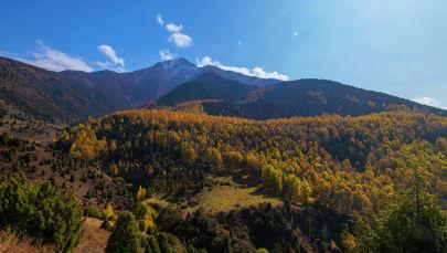 Осень в государственном природном парке Ала-Арча. Архивное фото