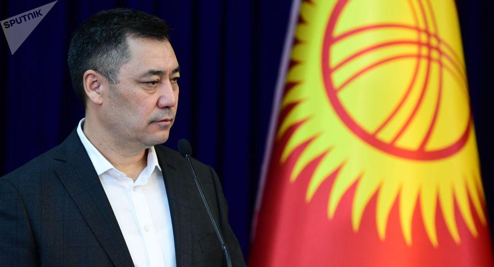 Премьер-министрлик кызматтагы Садыр Жапаров