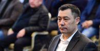 Кандидат на пост премьер-министра Садыр Жапаров. Архивное фото