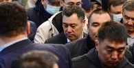 Одобренный частью депутатов премьер-министр Садыр Жапаров. Архивное фото