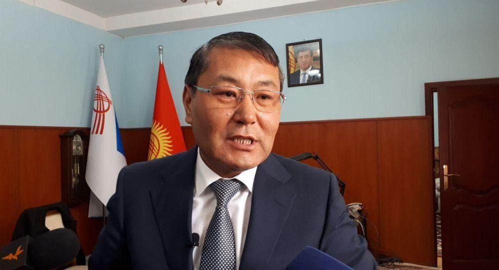 Экс-мэр города Ош Мелис Мырзакматов