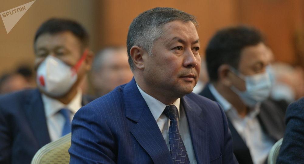 Лидер партии Кыргызстан Канат Исаев