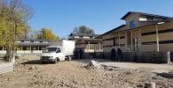 Строительство новой инфекционной больницы в Бишкеке