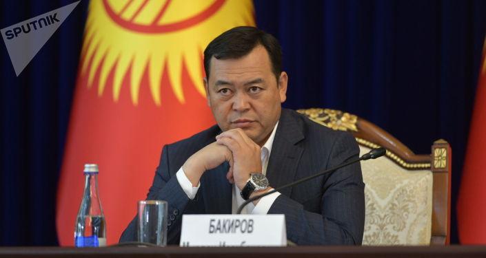 Вице-спикер Мирлан Бакиров