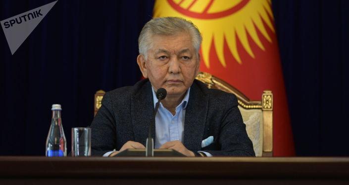 Депутат Иса Омуркулов