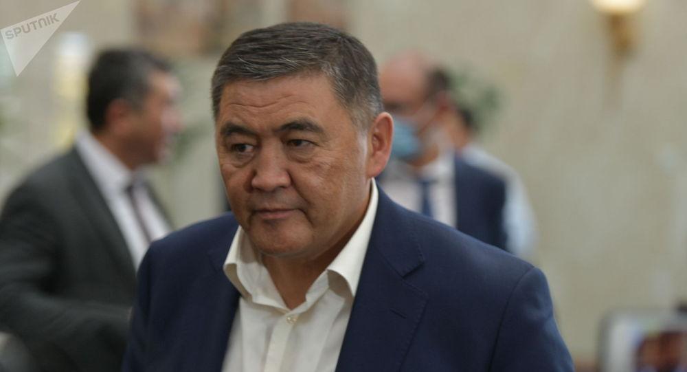 Глава ГКНБ Камчыбек Ташиев. Архивное фото