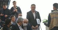 Кыялбек Мукашев на внеочередноем заседании Жогорку Кенеша в госрезиденции Ала-Арча
