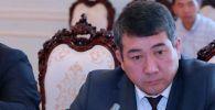 Назначенный министром транспорта и дорог Бакыт Бердалиев
