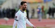Капитан сборной Аргентины Лионель Месси