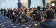 Жогорку Кеңештин мамлекеттик Ала-Арча резиденциясындагы жыйыны