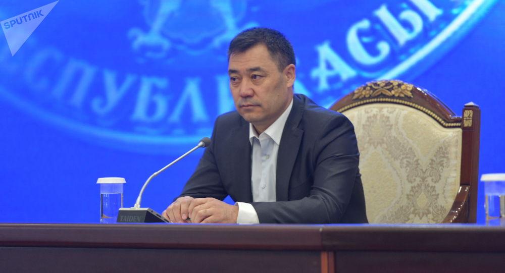 Президенттин милдетин аткаруучу Садыр Жапаров