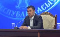 Исполняющий обязанности президента Кыргызстана Садыр Жапаров