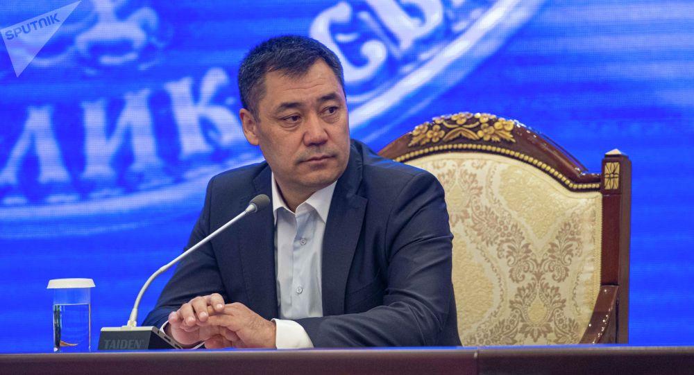 Премьер-министр, президенттин милдетин аткаруучу Садыр Жапаров