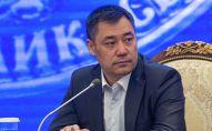 Исполняющий обязанности президента Кыргызстана, премьер-министр Садыр Жапаров