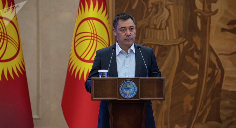 Премьер-министр Садыр Жапаров