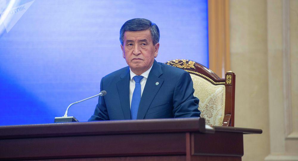 Экс-президент Сооронбай Жээнбеков. Архив