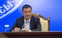 Премьер-министр КР Садыр Жапаров. Архивное фото