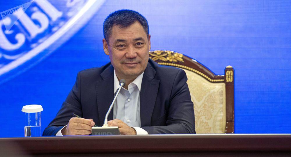 Президенттикке талпаке  Садыр Жапаров