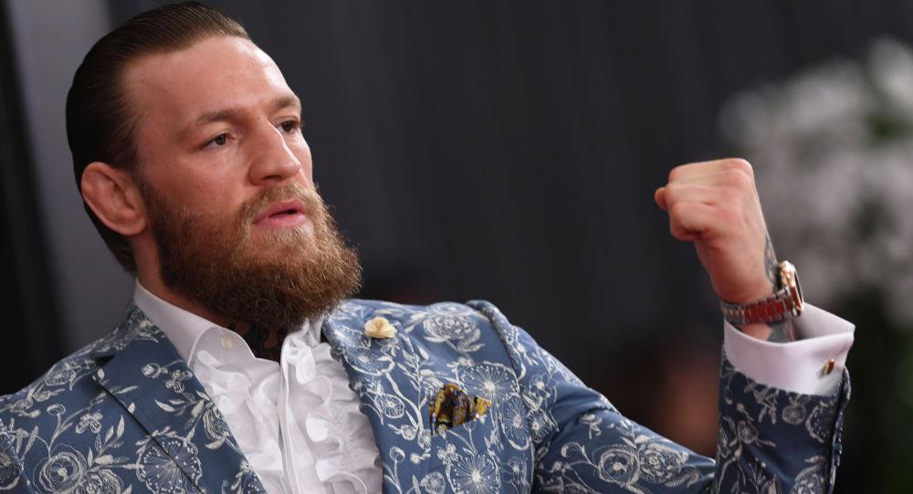 Ирландский боец UFC Конор МакГрегор. Архивное фото