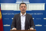 Исполняющий обязанности президента Кыргызстана, премьер-министр Садыр Жапаров сделал обращение к кыргызстанцам.