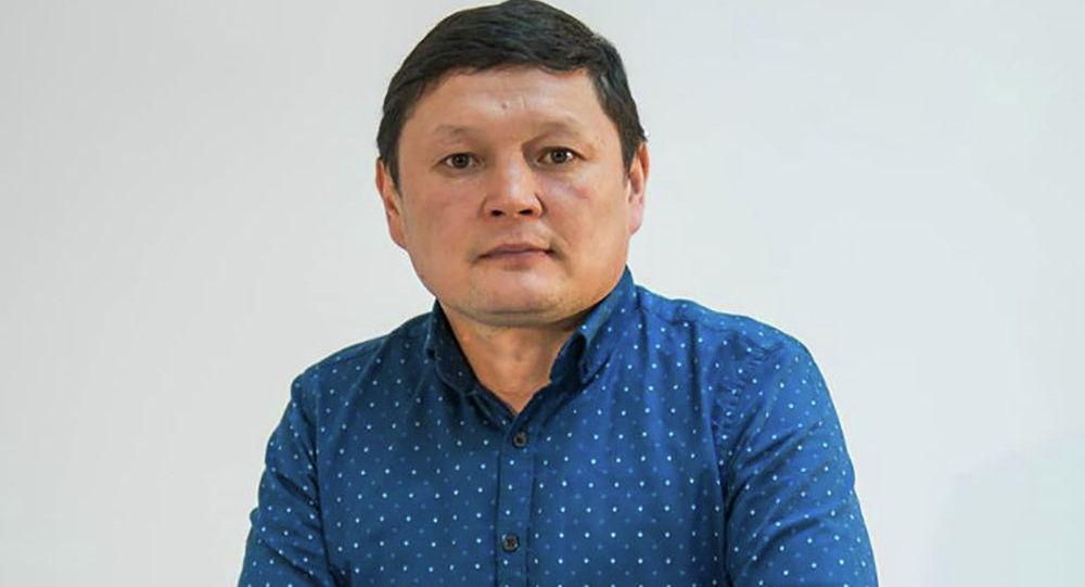Назначенный главой Государственной службы по борьбе с экономическими преступлениями Сыймык Жапыкеев. Архивное фото