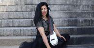 Кыргызстандык виолончелистка Нурмира Салимбаева