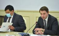 Первый вице-премьер-министр Кыргызстана Артем Новиков