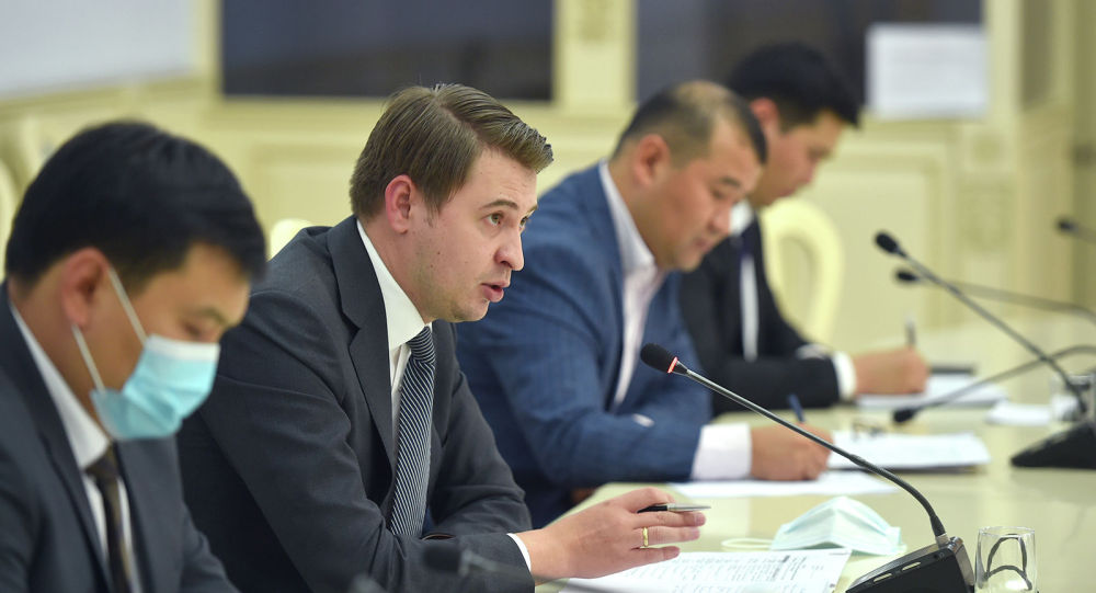 Биринчи вице-премьер Артем Новиков өлкөнүн бизнес-ассоциацияларынын өкүлдөрү менен жолугушуу учурунда